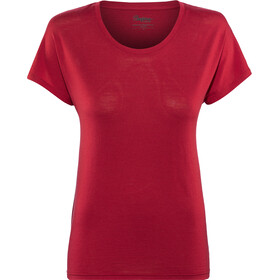 Bergans Oslo Wool T-Shirt Damen red